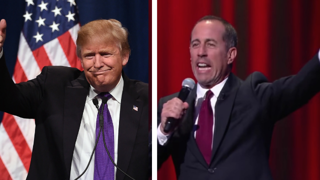 Donald Trump's speech endorsing police brutality is literally an old Seinfeld bit.
