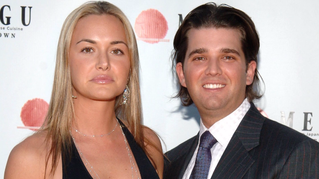 Don Jr. may be headed for divorce but at least he's today's hottest meme.
