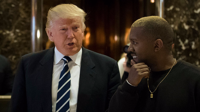 Trump tweeted back at Kanye West and the internet is welcoming the end of days.