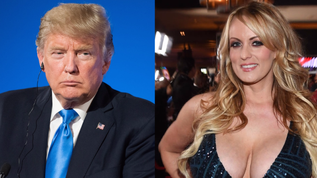 New report shows Trump's involvement in criminal conspiracy to hide his affairs with porn stars.