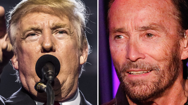 Donald Trump just tweeted happy birthday to the 'God Bless The USA' singer. One problem.