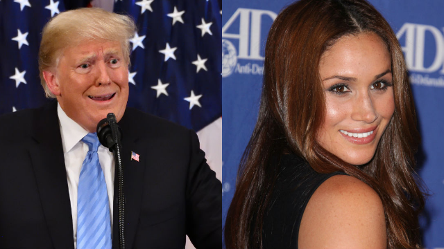 Trump finally admitted to calling Meghan Markle 'nasty,' but she started it.