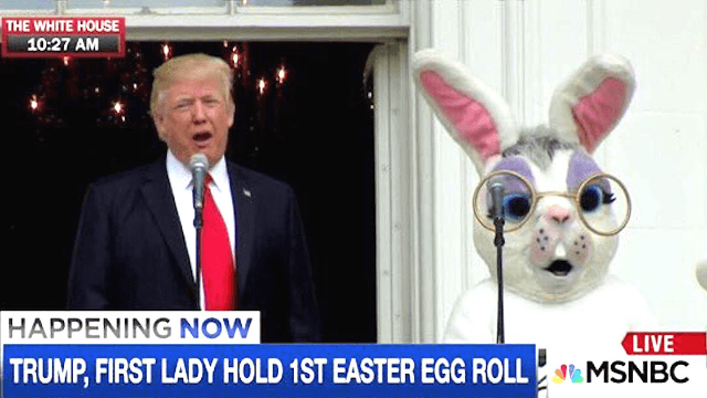 Everything went wrong at Donald Trump's White House Easter Egg Roll. Twitter noticed.