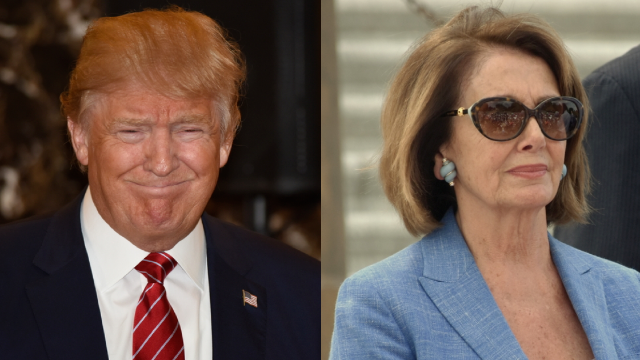 Trump's response to Nancy Pelosi's State of the Union move is a total self-own.