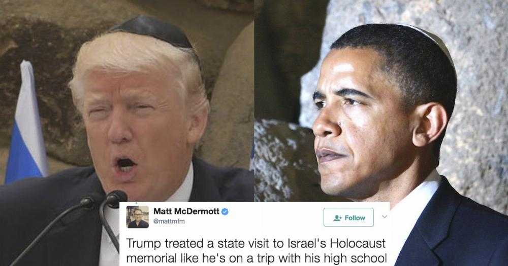 donald trump u0026 39 s inappropriate letter at holocaust memorial