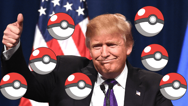 There's a new Pokémon that looks suspiciously like Donald Trump.