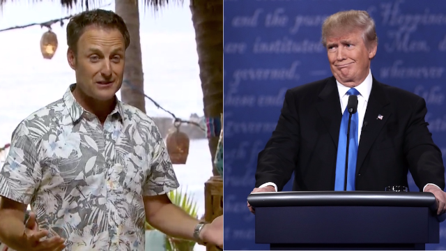 Donald Trump's address interrupted 'Bachelor In Paradise' and people were pissed.