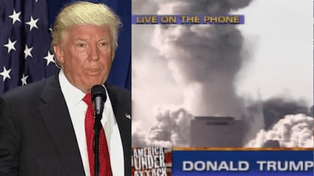 Donald Trump brought up 9/11 just to brag about his ratings.