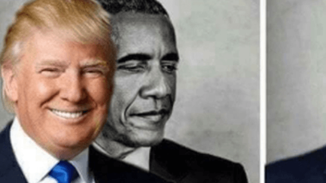 donald trump retweeted a lame eclipse meme to take a shot at obama twitters in disbelief zmS donald trump tweeted a lame eclipse meme to take a shot at obama