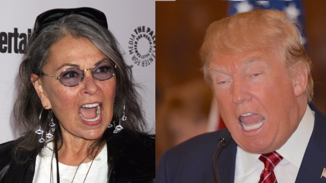 Donald Trump has weighed in on Roseanne's cancellation in the Trump-iest way possible.