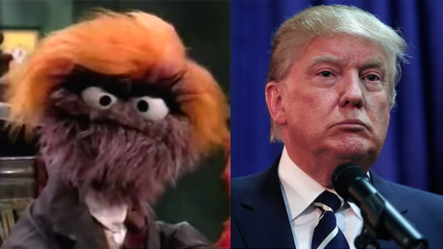 Sesame Street made fun of Trump 10 years ago as a trash-hoarding puppet.
