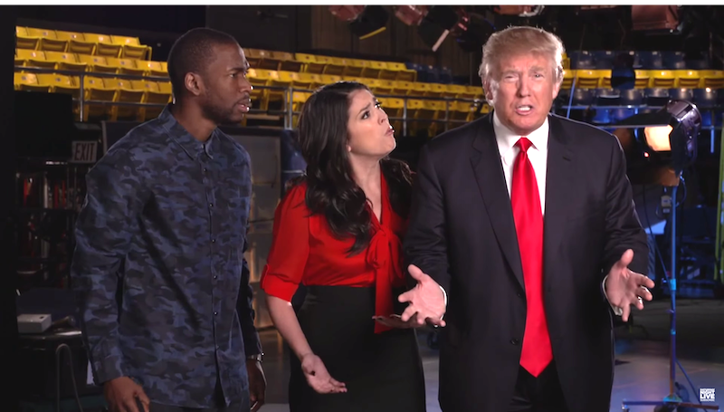 NBC 'accidentally' leaks Donald Trump 'SNL' promos that weren't meant for air.