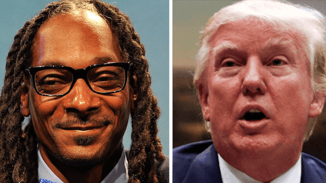 Donald Trump woke up this morning and tweeted about Snoop Dogg. He's not happy.