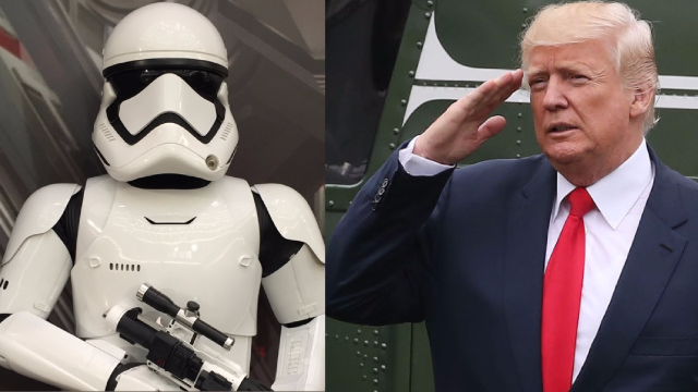 Trump seriously proposed establishing a military 'Space Force' and the jokes are out of this world.
