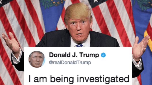 Donald Trump's latest tweetstorm definitely wasn't vetted by his lawyers.