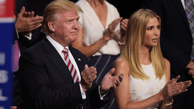 Donald Trump tweeted at the wrong Ivanka, who had the perfect reply.