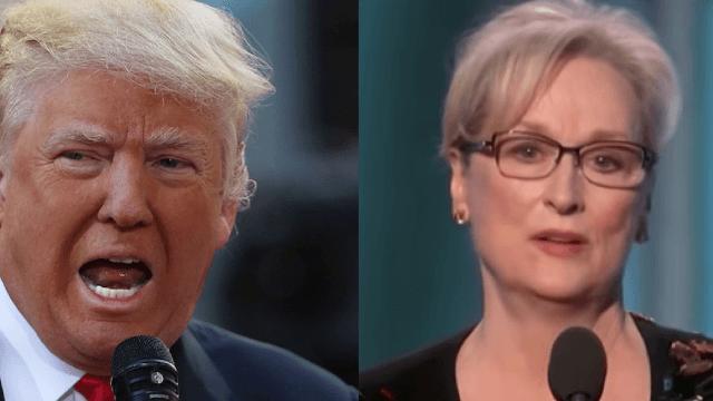 Donald Trump melts down on Twitter over Meryl Streep's Golden Globes speech.