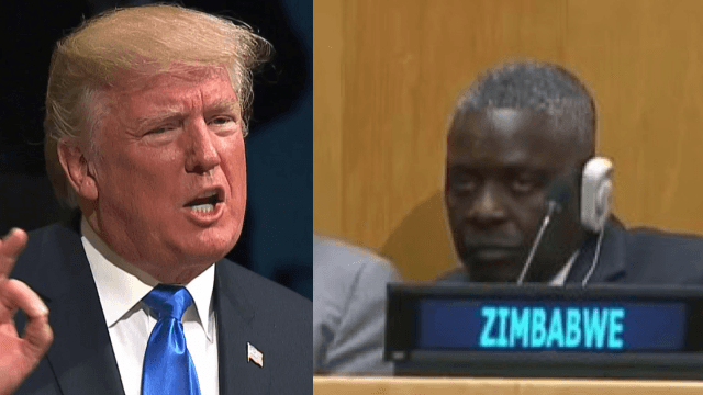 The audience's faces during Trump's UN speech say everything you need to know.