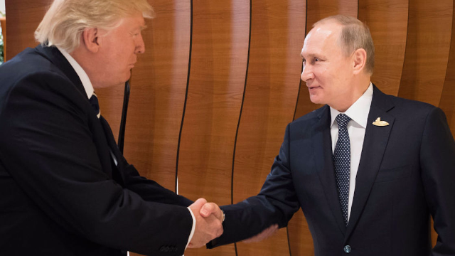 Trump congratulates Putin on winning reelection, gets slammed by McCain