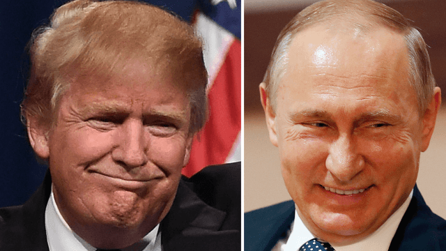 The Trump—Putin handshake is finally here and ready for your analysis.