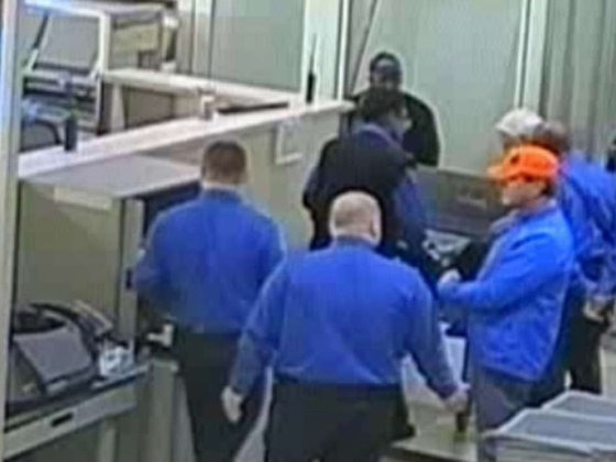 Don't ask to file a complaint against the TSA unless you want to be jailed.