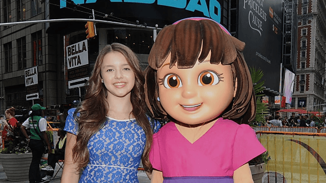 Voice of Dora the Explorer involved in lawsuit for vaping at school. Can you say 'lawsuit'?