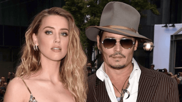 Comedian Doug Stanhope says Amber Heard is blackmailing his friend Johnny Depp.