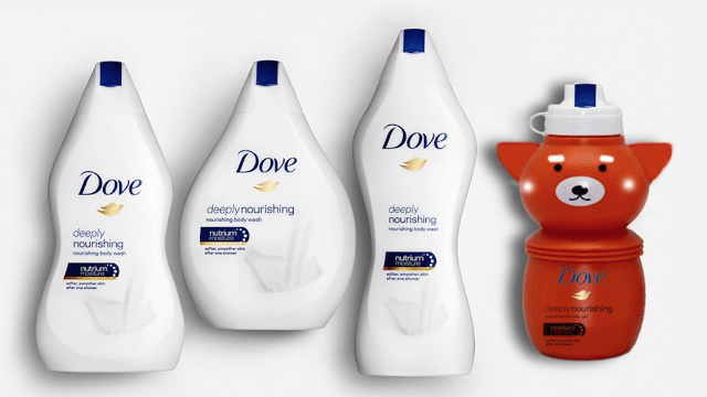 Dove is getting trolled for making their shampoo bottles shaped like body types.