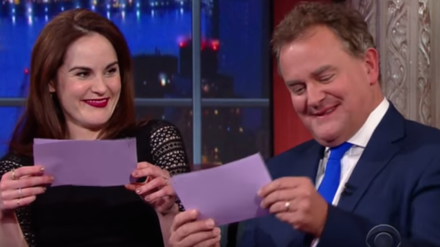 The 'Downton Abbey' cast tried American accents and made all Americans realize how uncultured they sound.