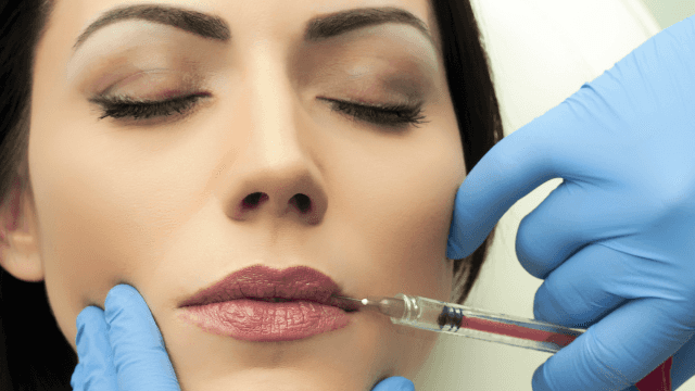 Watching lip filler get squeezed out will gross you out more than the sight of your boss does.