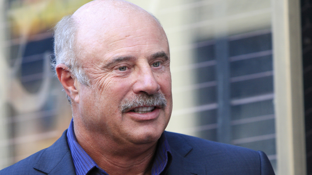 Dr. Phil won Halloween by dressing as a viral tweet about himself.