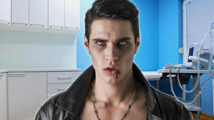 """Real """"vampires"""" afraid to tell doctors about sucking blood for fear of looking like weirdos."""