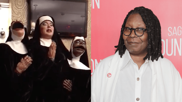 Everyone is obsessed with this drag queen's version of 'Sister Act' including Whoopi herself.