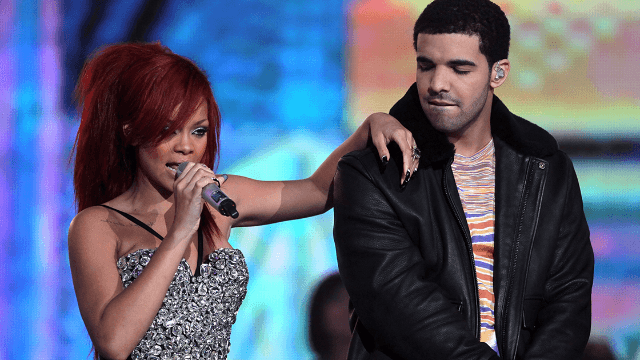 Drake bought Rihanna a billboard, because love is probably real.