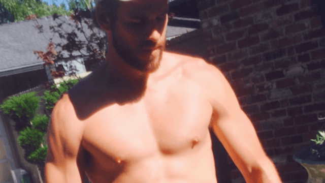 Drastically improve your Monday with these new pics of Liam Hemsworth in very short shorts.