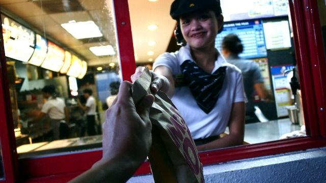 18 fast food workers and regulars share their most memorable moments at the drive-thru.