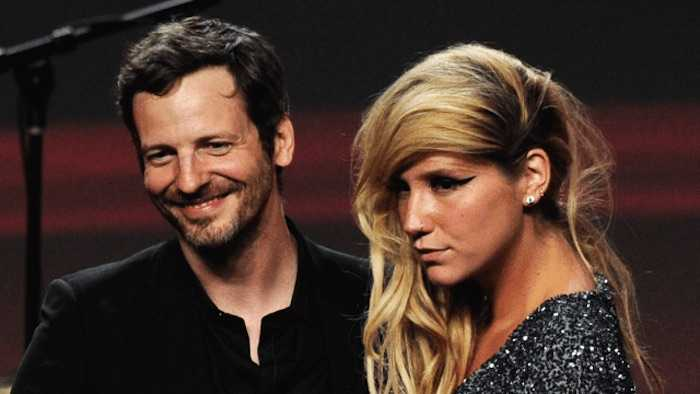 Dr. Luke and Kesha at the ASCAP Pop Music Awards in 2011.