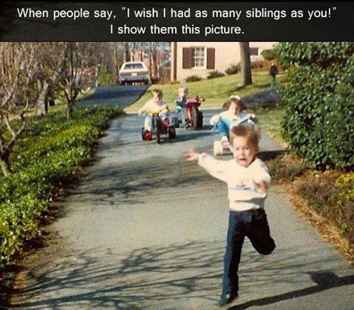 31 Memes To Share With The Siblings You're Still Speaking To.