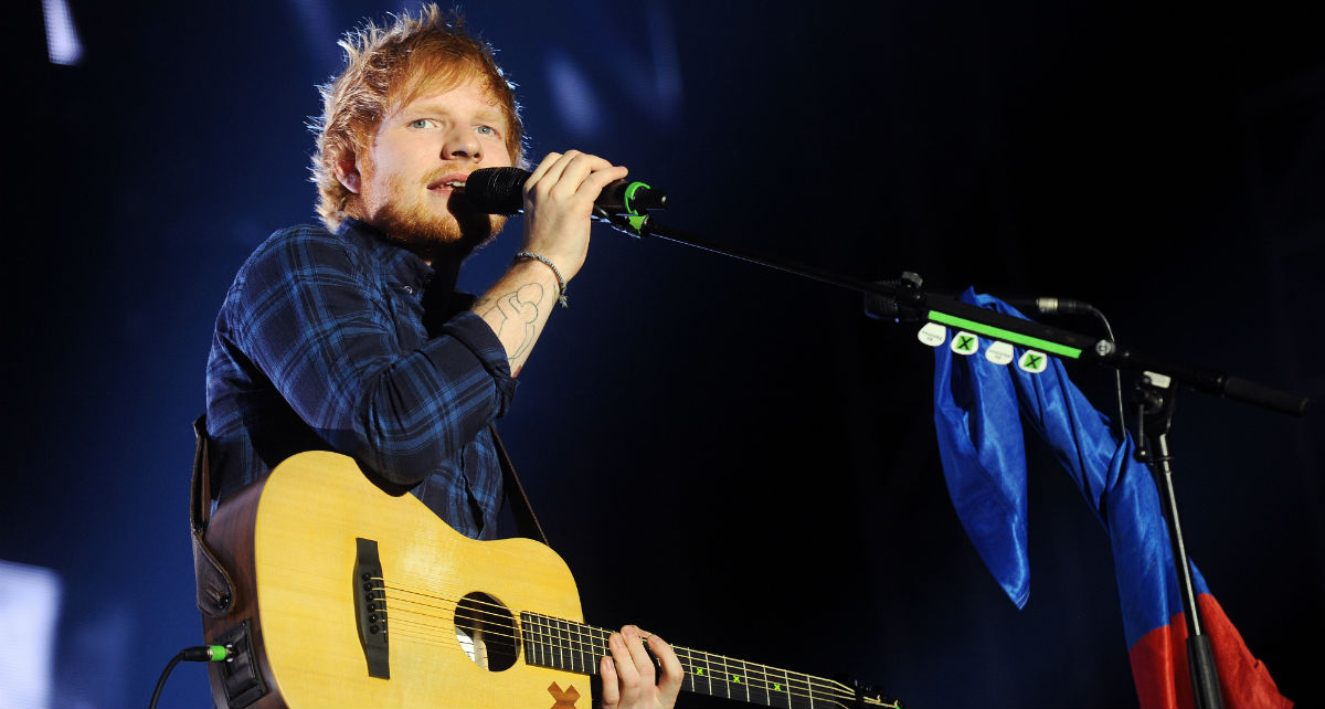 Ed Sheeran also saw that meme of him and Beyoncé. And he responded.