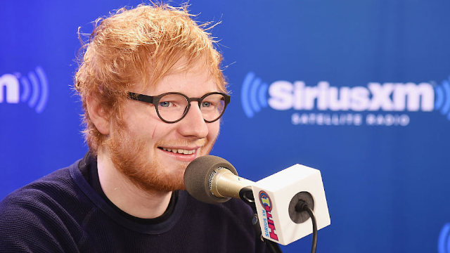 Ed Sheeran announced his engagement in an adorable Instagram post.