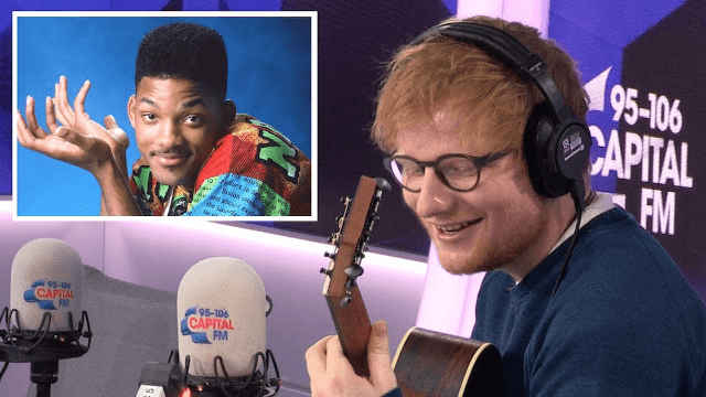 Ed Sheeran crooning the 'Fresh Prince' theme is the smoothest thing you've ever heard.