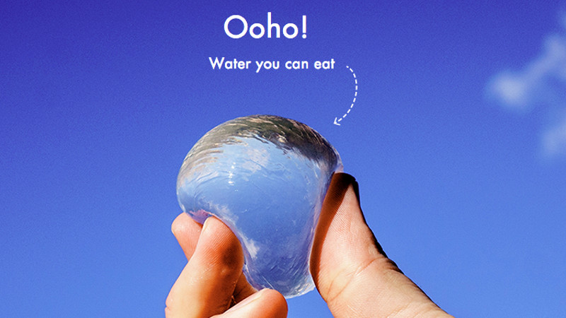 The future of water bottles is these edible blobs ...