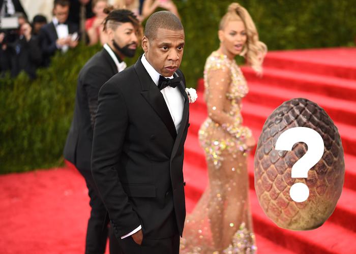 Did Jay Z buy Beyoncé a dragon's egg?