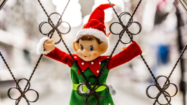 Mom's Elf on the Shelf prank backfires when her son tries to frame the elf for the mess.