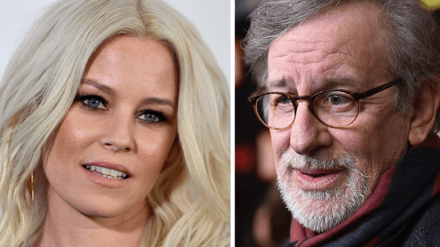 Elizabeth Banks calls out Spielberg for 'never' making a movie with a female lead. Oops.