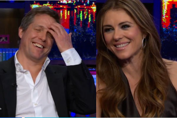 Elizabeth Hurley reveals how Hugh Grant is in bed, boosts your single aunt's sexual fantasies.