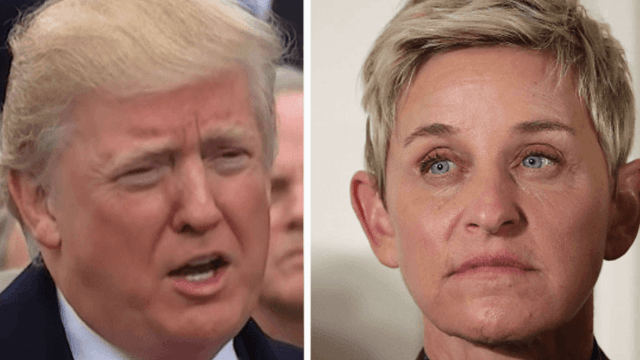 Here's what Ellen DeGeneres had to say about Donald Trump screening 'Finding Dory' right after his Muslim ban.