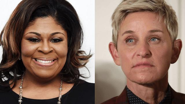 Ellen DeGeneres boots singer Kim Burrell from show after homophobic rant.
