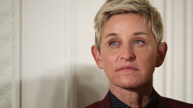 Ellen opened up about her ex's death in refreshingly honest interview about her past.