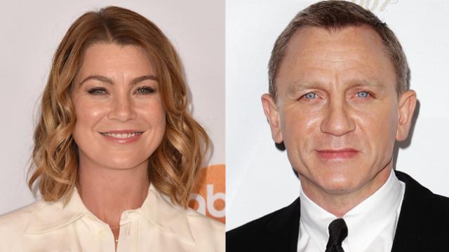 Ellen Pompeo called out Daniel Craig for those melodramatic James Bond comments.